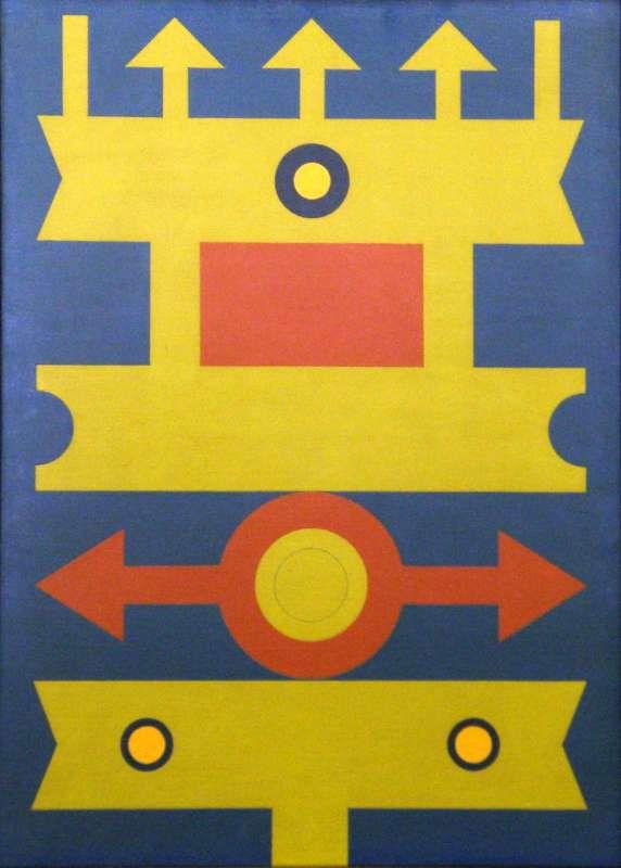 Muitas vezes Galeria Estação - Artista: Rubem Valentim BD34